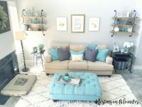 Image Result For Tan Aqua Living Room | Decor In 2019 with regard to Aqua Living Room Decorating Ideas
