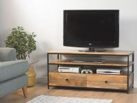 Imari Industrial Medium Tv Unit with regard to Stylish Tv Unit