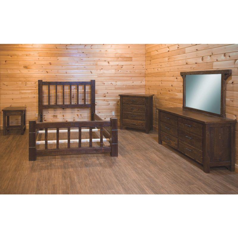 Indian Creek Mission Amish Bedroom Furniture Set intended for Unique Rustic Bedroom Furniture Sets
