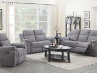 Jupiter Living Room – Reclining Sofa & Loveseat ( Jupiterlr) within Living Room Furnitures