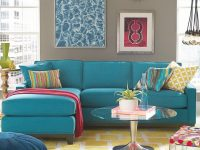 Keegan Fabric Reversible Sectional And Sofa Collection | New within Elegant Teal Living Room Furniture