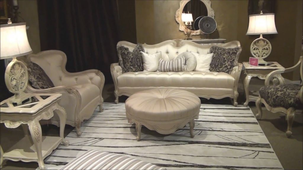 Lavelle Living Room Sofa Setmichael Amini / Aico | Home Gallery S throughout Lovely Michael Amini Living Room Furniture