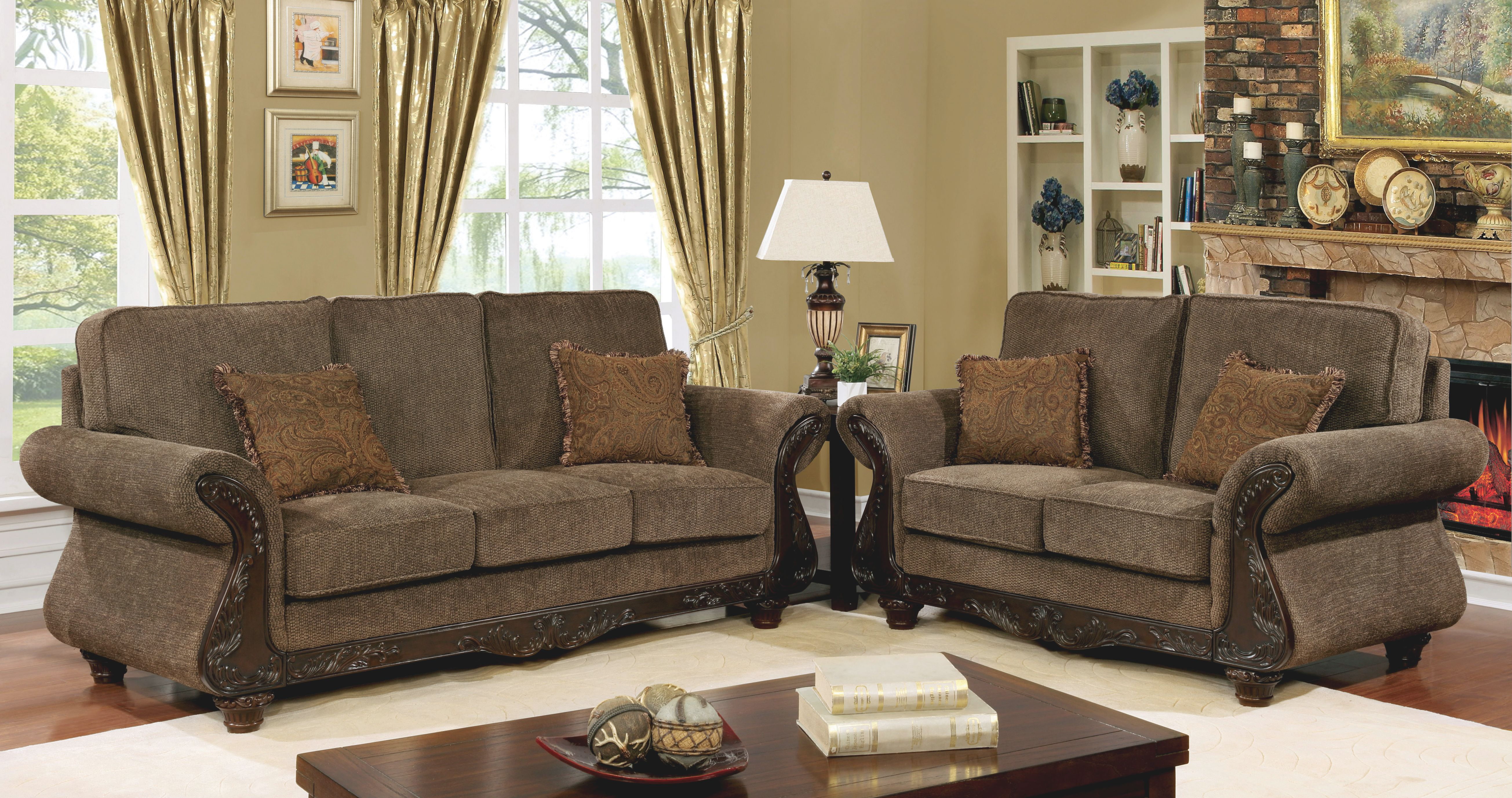 Lebo Transitional Living Room Collection inside Transitional Living Room Furniture