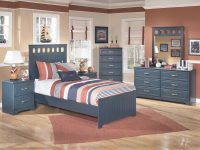 Leo Twin Bedroom Groupsignature Designashley At Household Furniture with Twin Bedroom Furniture Set
