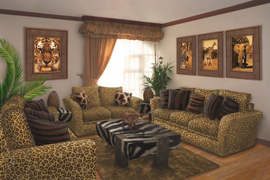 Leopard Wall Decor Decorating With Print Ideas Bedroom within Animal Print Living Room Decor