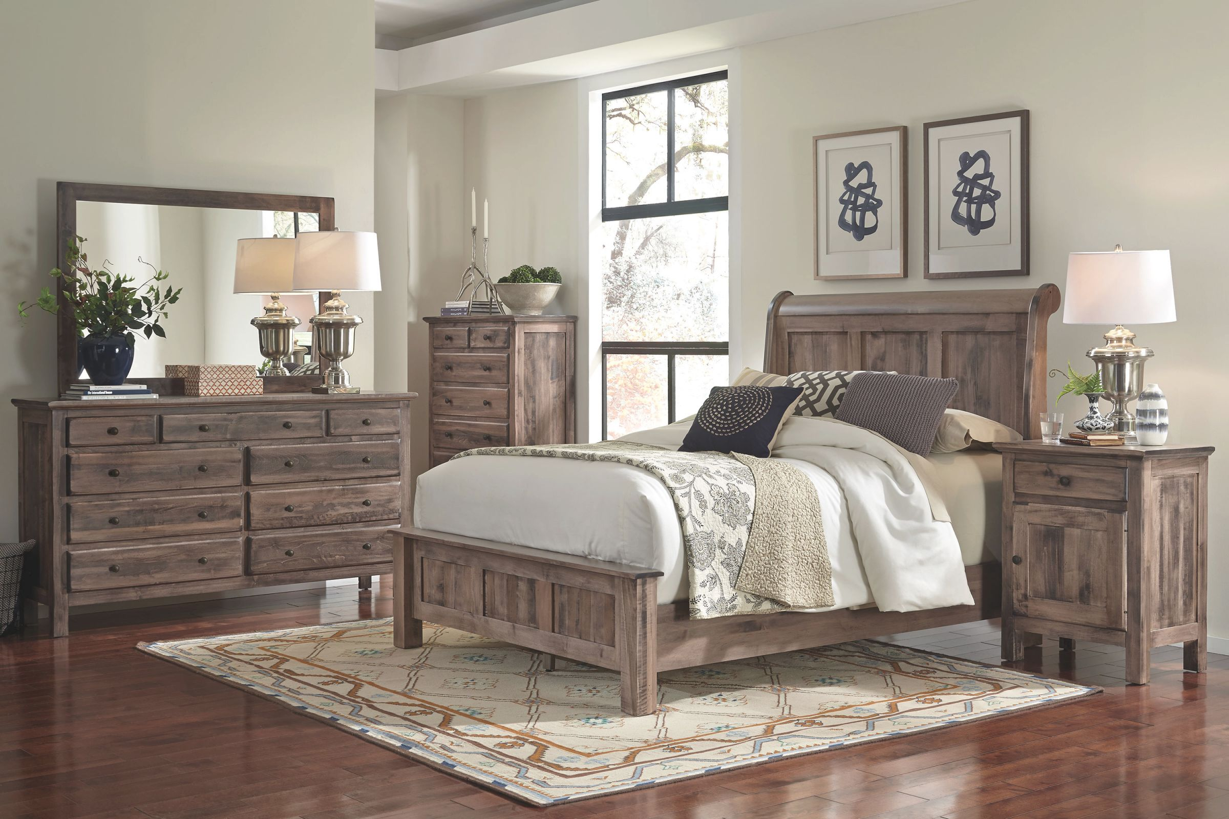 Lewiston 4-Piece Queen Bedroom Set throughout Awesome Cheap Queen Bedroom Furniture Sets