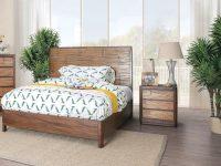Lio Coastal Antique Brown 2-Piece Bedroom Setfoa throughout Coastal Bedroom Furniture Sets