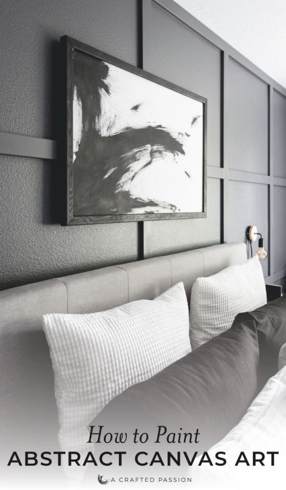 Living Art Abstract Canvas Room Delectable Painting For throughout Elegant Monochrome Living Room Decorating Ideas