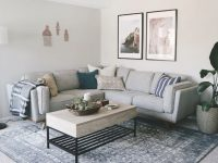 Living Room Apartment Makeover • Laying Out Furniture Tips & Decorating Ideas within Apartment Living Room Decor Ideas