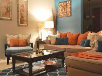 Living Room Teal Color Decor Brown Rooms Designs Dark Paint for Elegant Teal Living Room Furniture