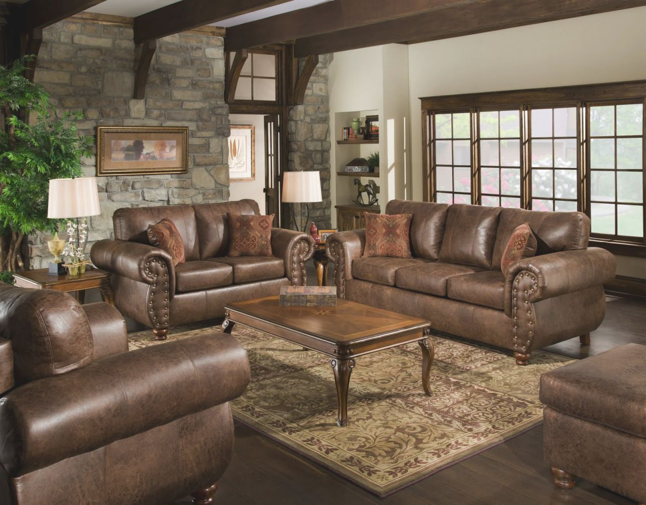 Best Of Living Rooms With Leather Furniture Decorating Ideas Awesome Decors