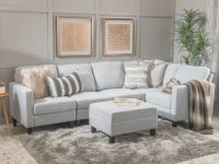 Longwood Modular Sectional Ottoman with Luxury Modular Living Room Furniture