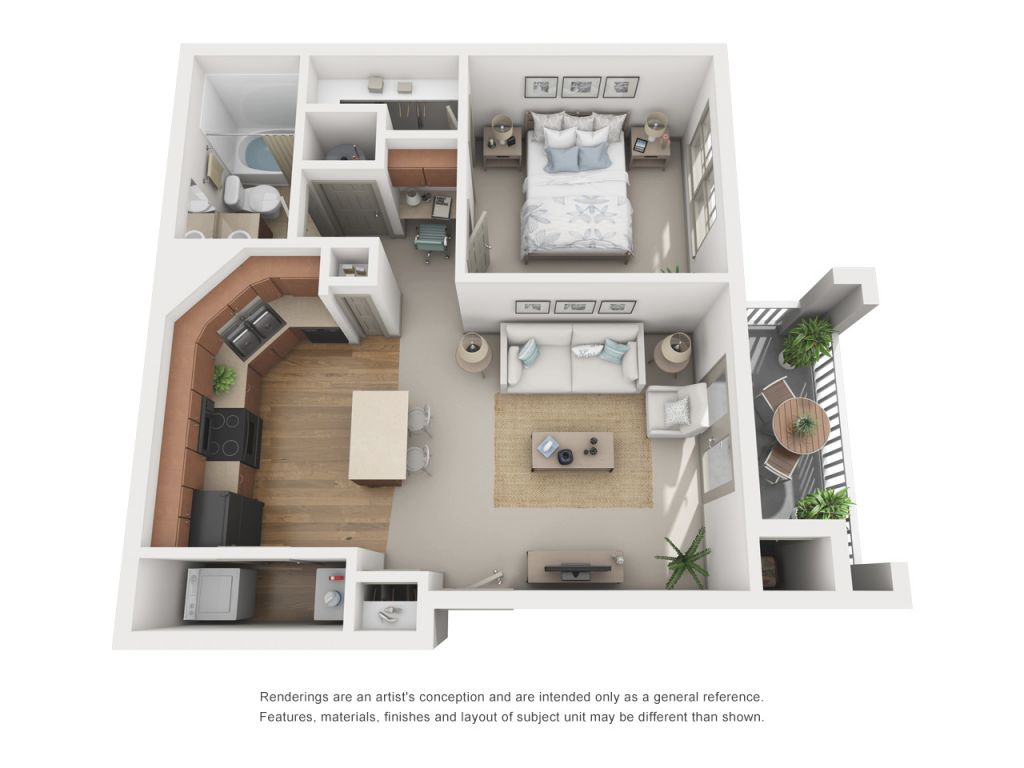 Luxury 1, 2, & 3 Bedroom Apartments In Atlanta, Ga | Layouts pertaining to Three Bedroom Apartment
