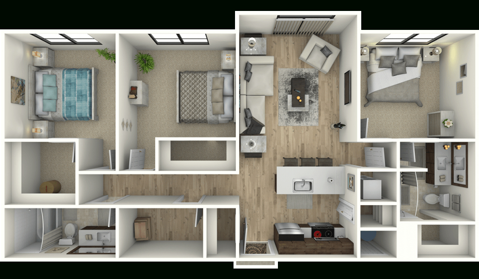 Luxury 1, 2 & 3 Bedroom Apartments In Edwards, Co pertaining to Luxury Three Bedroom Apartment