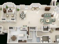 Luxury 1, 2 & 3 Bedroom Apartments In San Antonio, Tx pertaining to Three Bedroom Apartment