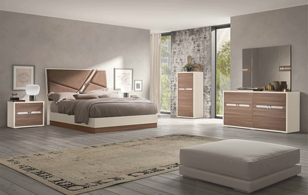 Made In Italy Wood Designer Bedroom Furniture Sets With Optional Storage System pertaining to Master Bedroom Furniture Sets