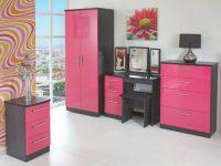 Magnificent Grey Gloss Bedroom Furniture Sets Wood Pillows inside Elegant Pink Bedroom Furniture Sets