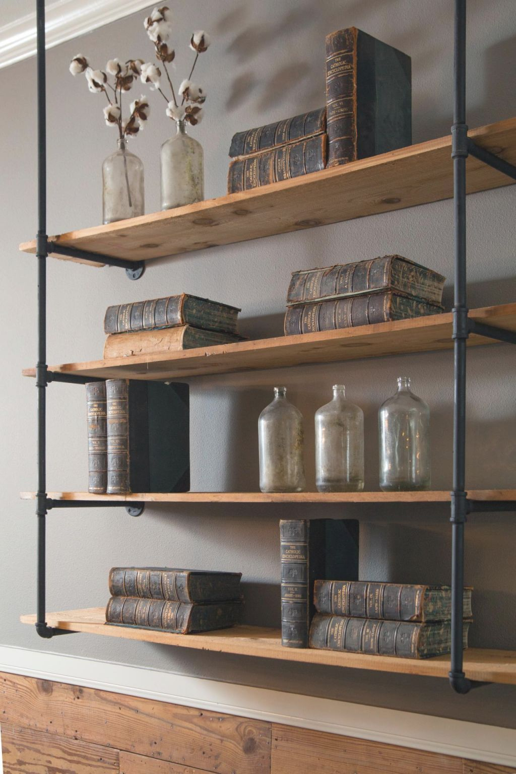 Make Your Bookshelves Shelfie-Worthy With Inspiration From with Decorating Shelves In Living Room