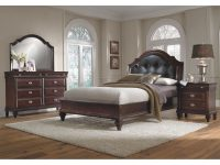 Manhattan 6-Piece Upholstered Bedroom Set With Nightstand, Dresser And Mirror with Best of Value City Furniture Bedroom Set