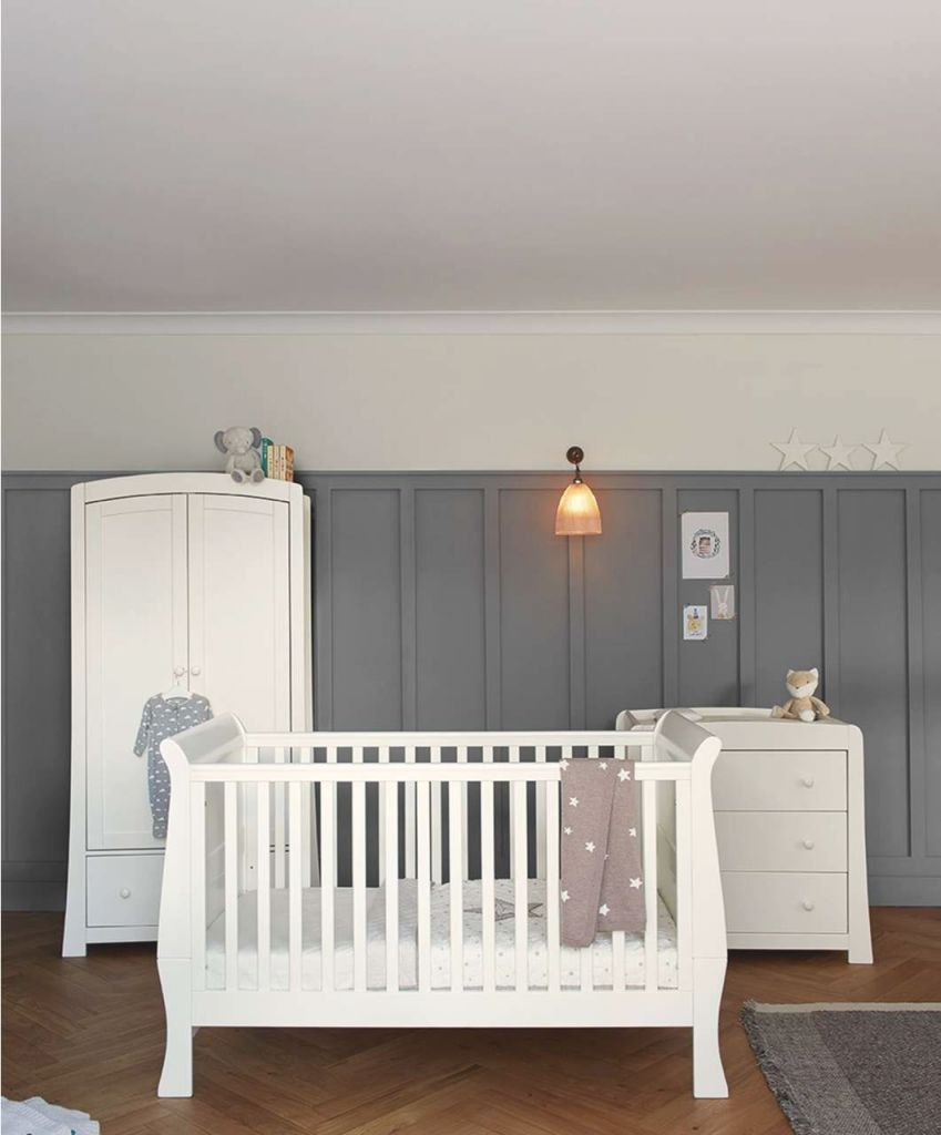 Mia 3 Piece Set – Ivory | Nursery Furniture | Mamas & Papas within Unique Baby Bedroom Furniture Sets