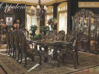 Michael Amini Oppulente Luxury Formal Dining Room Set pertaining to Lovely Michael Amini Living Room Furniture