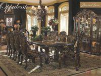 Michael Amini Oppulente Luxury Formal Dining Room Set pertaining to Lovely Michael Amini Living Room Furniture