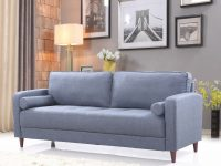 Mid-Century Modern Linen Fabric Living Room Sofa for Living Room Furnitures