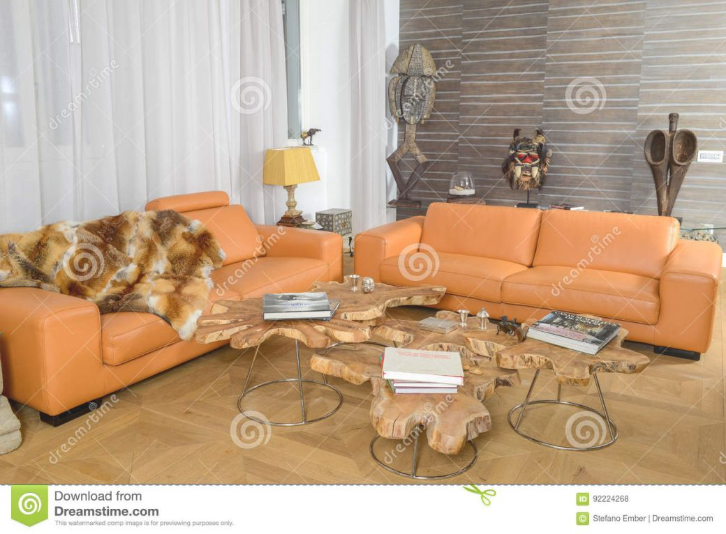 Modern Living Room Editorial Stock Photo. Image Of African with regard to Best of African Decor Living Room