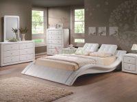 Modern Upholstered Platform Bedroom Furniture Set 152 | Xiorex pertaining to Elegant Bedroom Furniture Set