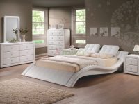 Modern Upholstered Platform Bedroom Furniture Set 152 | Xiorex with regard to New Modern Bedroom Furniture Sets