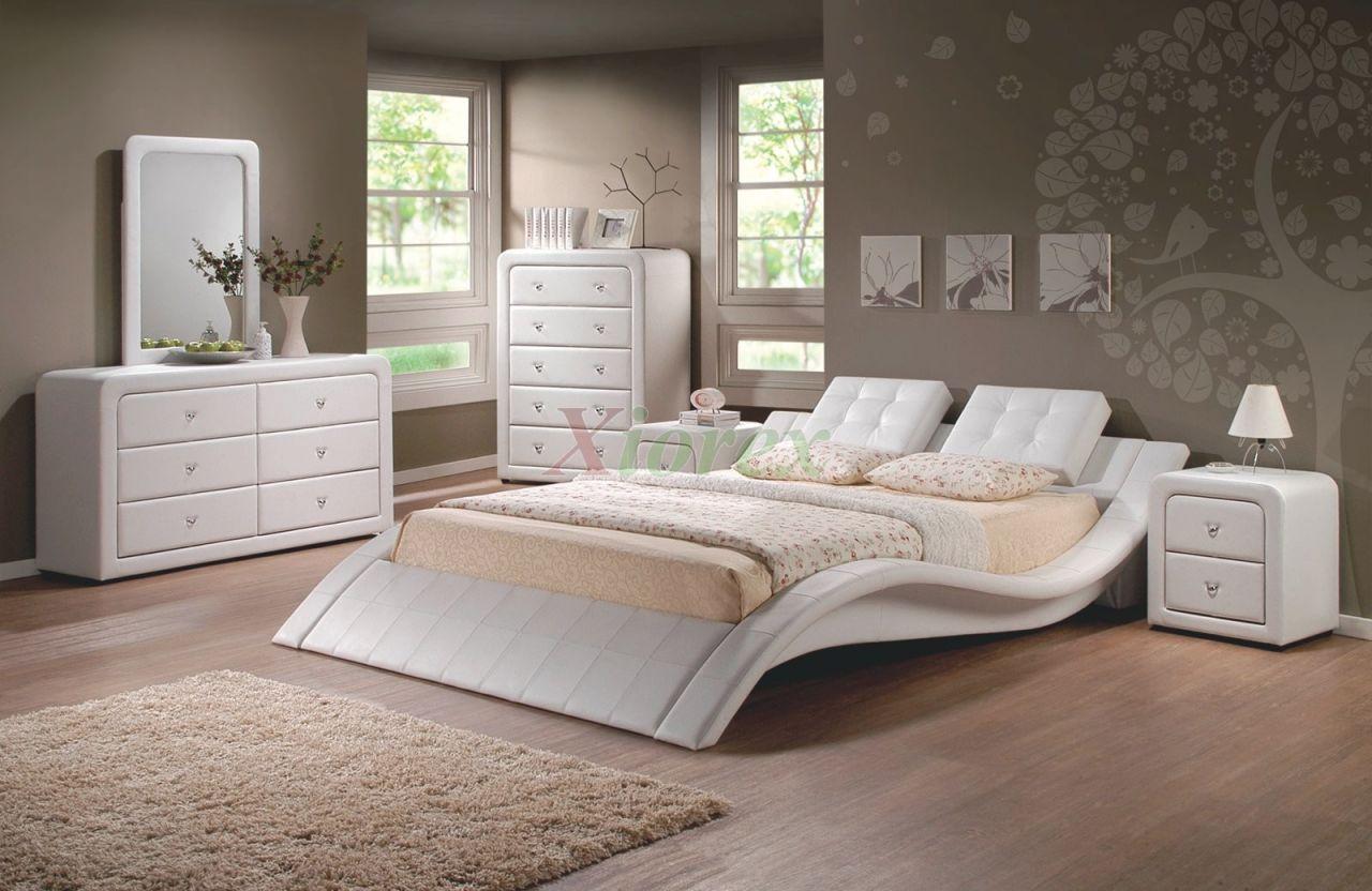 Modern Upholstered Platform Bedroom Furniture Set 152 | Xiorex with regard to New Modern Bedroom Furniture Sets