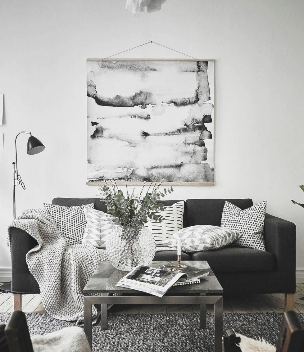 Monochrome Living Room Decorating Ideas – Saveoaklandlibrary with Elegant Monochrome Living Room Decorating Ideas