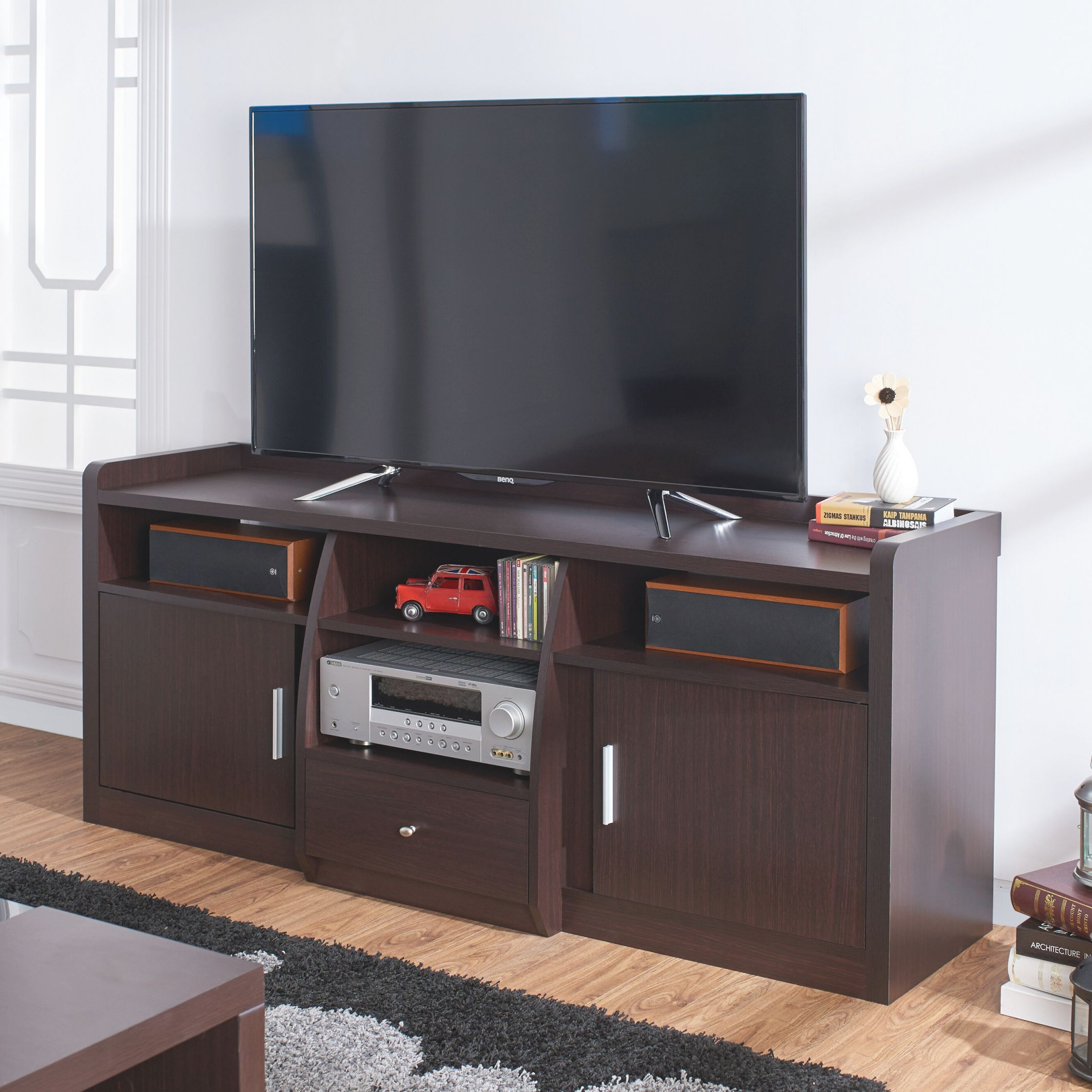 """Monty Tv Stand For Tvs Up To 60"""" pertaining to Awesome Stylish Tv Unit"""