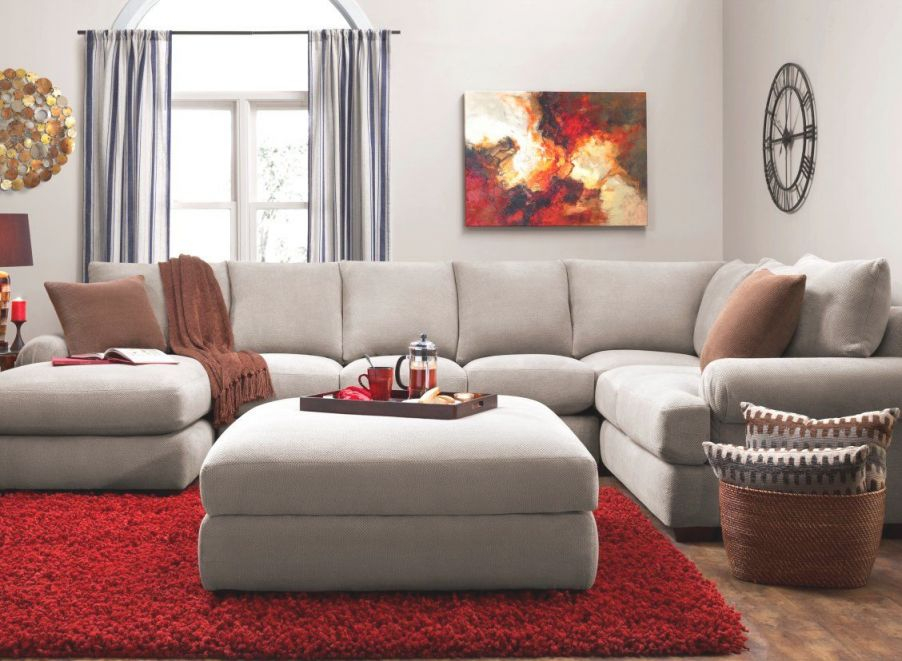 Mosley 3-Pc. Chenille Sectional Sofa In 2019 | Sectional within Lovely Raymour And Flanigan Sectional Sofas