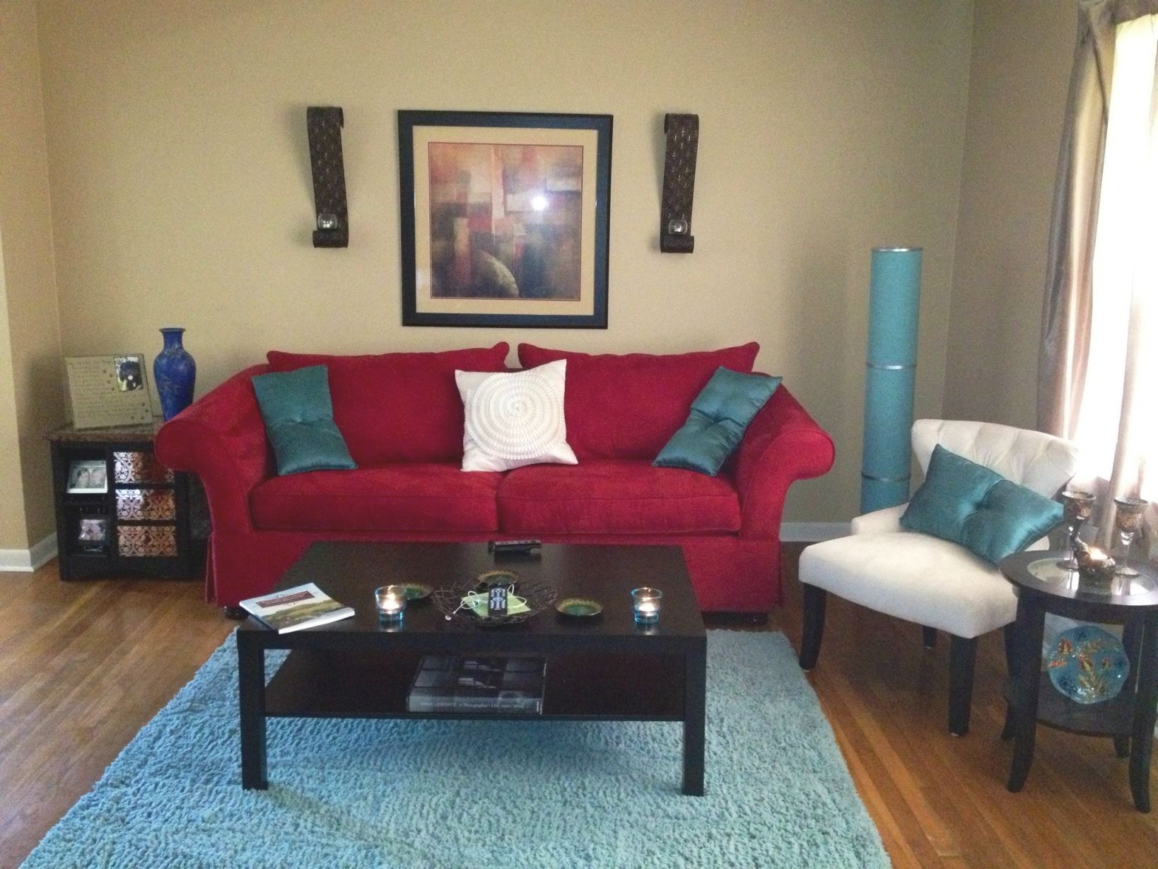 My Living Room Red Aqua And Ivory 3 Home Design For Lovely Aqua Living Room Decorating Ideas Awesome Decors