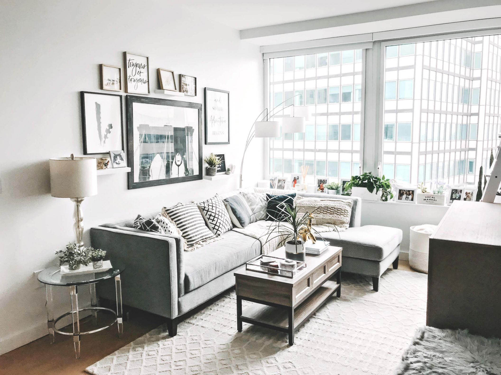 My Living Room Revamp With Raymour & Flanigan | To Be Bright in Raymour And Flanigan Sectional Sofas