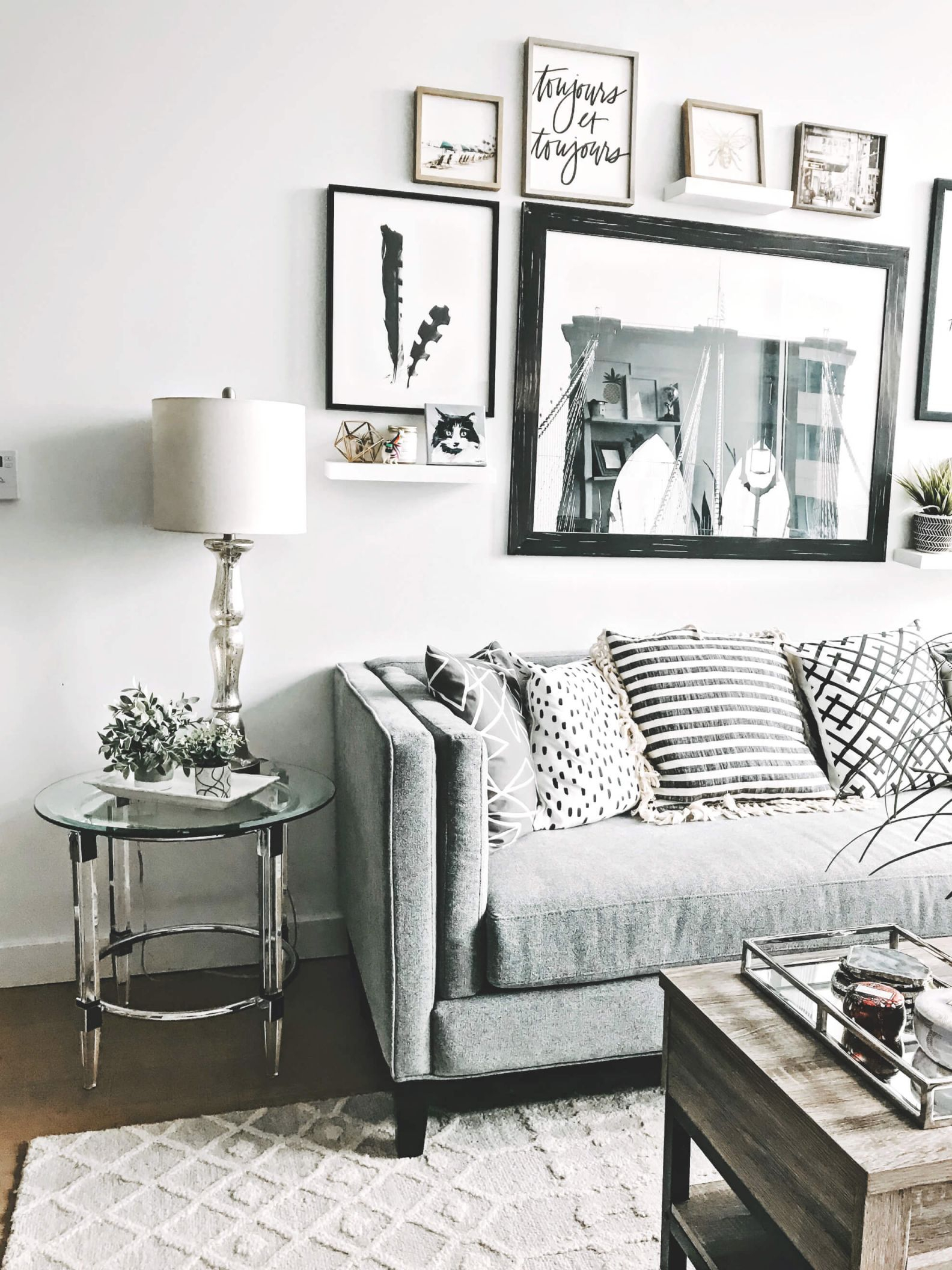 My Living Room Revamp With Raymour & Flanigan | To Be Bright throughout Raymour And Flanigan Sectional Sofas
