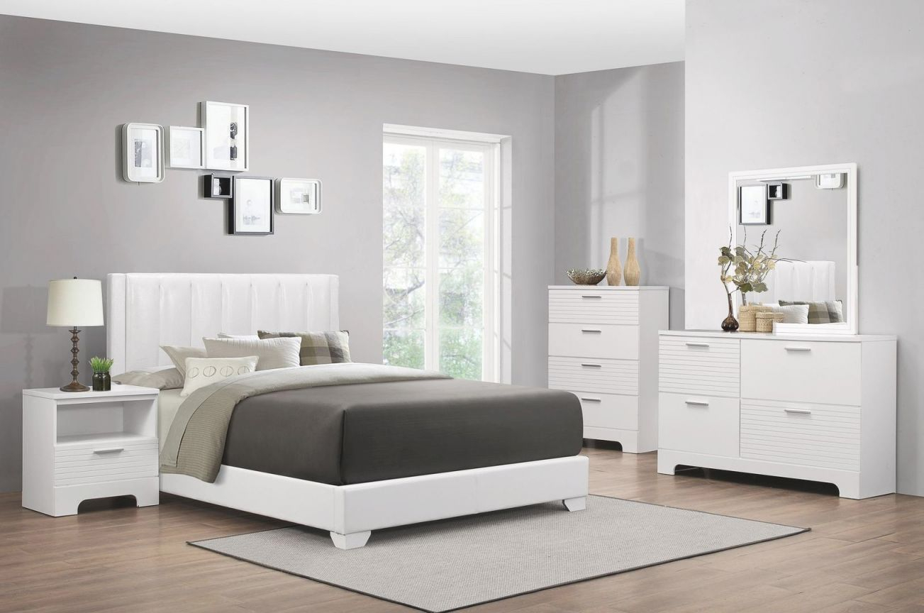 Myco Furniture Moderno 5 Piece Full Size Bedroom Set throughout Luxury Full Size Bedroom Furniture Sets