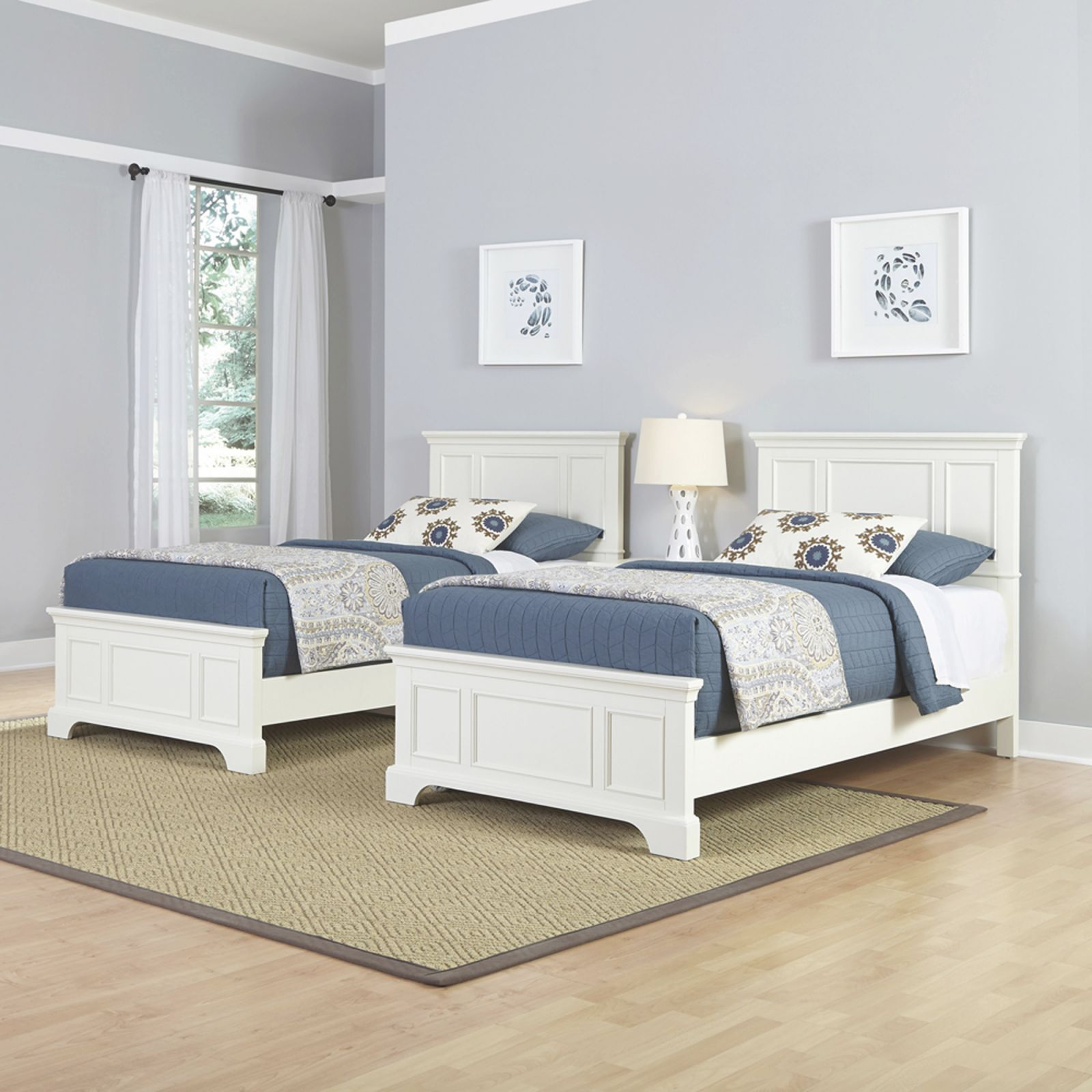 Naples Two Twin Beds And Night Stand pertaining to Luxury Twin Bedroom Furniture Set