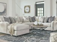New Sectional Living Room Furniture – 4Pcs Light Gray Fabric Sofa Chaise Set G0N inside Unique Grey Living Room Furniture Set