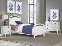 Newport 3-Piece White Twin Bedroom Set | Products | White regarding Luxury Twin Bedroom Furniture Set