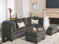 Noble House Victoria 3 Piece Fabric Sectional Sofa Set – Walmart throughout Beautiful 3 Piece Sectional Sofa