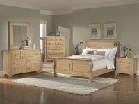 Oak Bedroom Furniture Sets | Washed Oak Queen Sleigh with regard to Oak Bedroom Furniture Sets