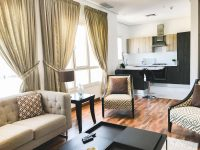 One Bedroom Furnished Apartment Rent Salmiya, Kuwait, For regarding Luxury One Bedroom Furnished Apartment