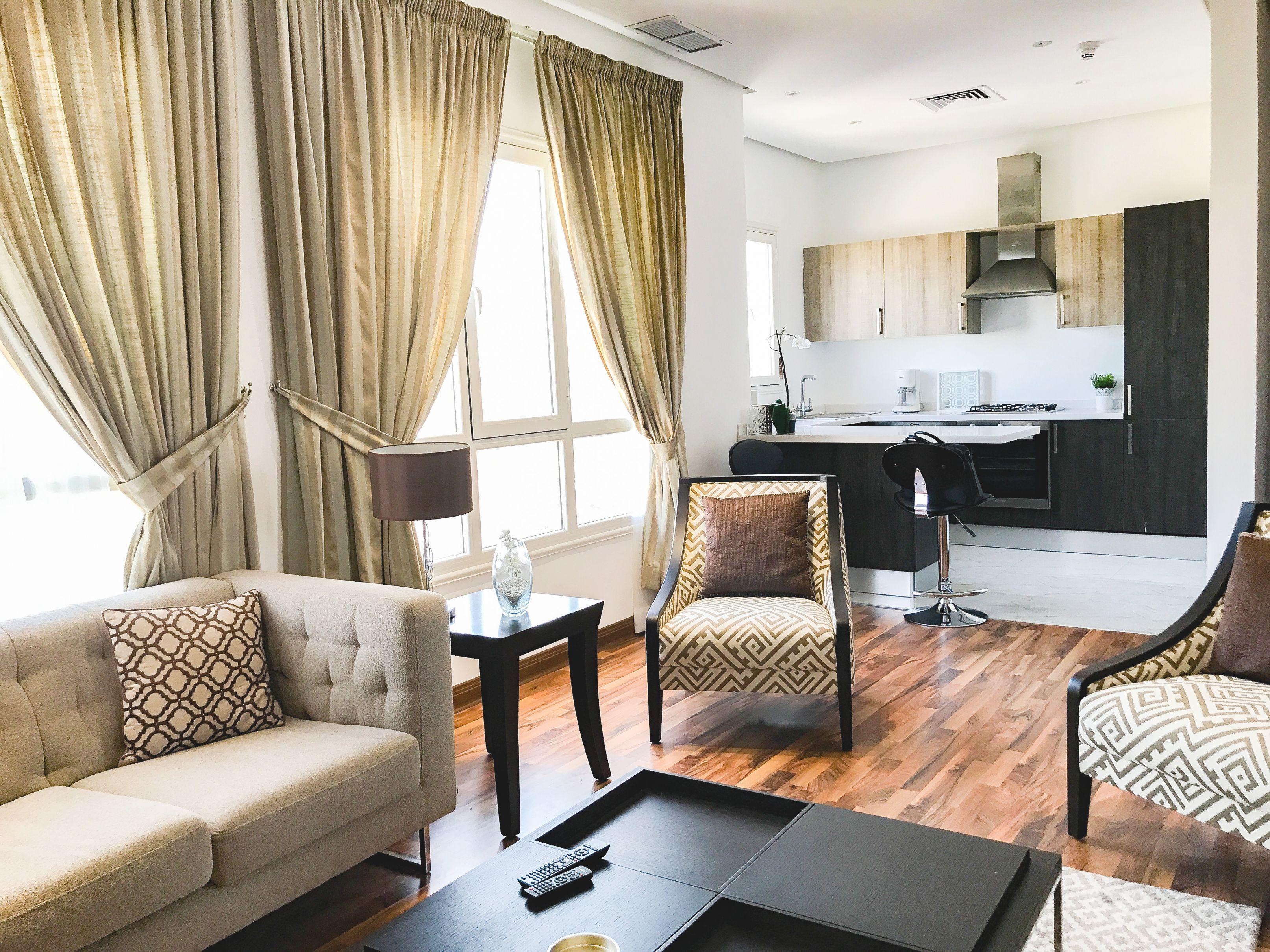 One Bedroom Furnished Apartment Rent Salmiya, Kuwait, For regarding Luxury One Bedroom Furnished Apartment