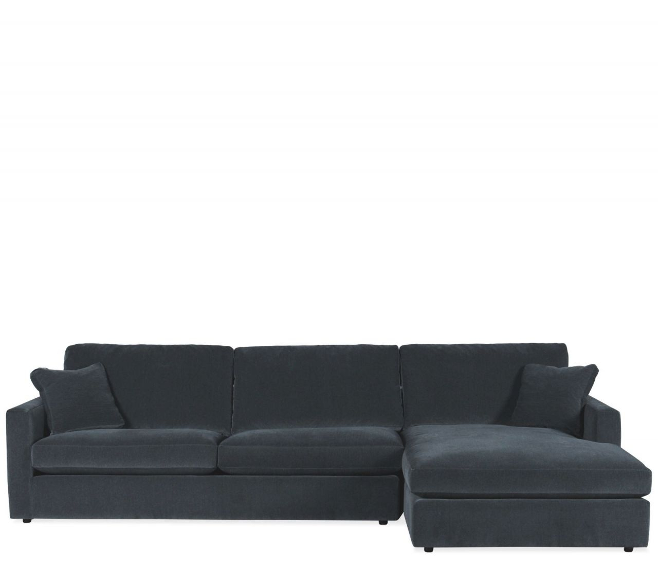 Orion 2 Piece Sectional Raf Chaise regarding 2 Piece Sectional With Chaise