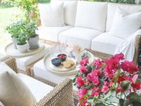 Outdoor Living Space Update Reveal – Decor Gold Designs inside Unique Outdoor Living Room Furniture