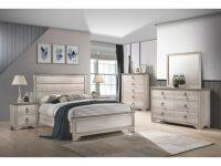 Patterson Coastal Distressed Panel Bedroom Set Twin Full intended for Lovely Coastal Bedroom Furniture Sets