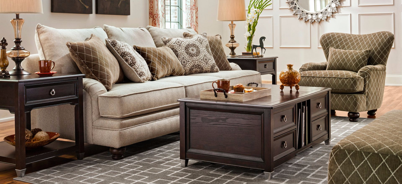 Pinred Shoesies On Family Room | Transitional Home Decor inside Transitional Living Room Furniture