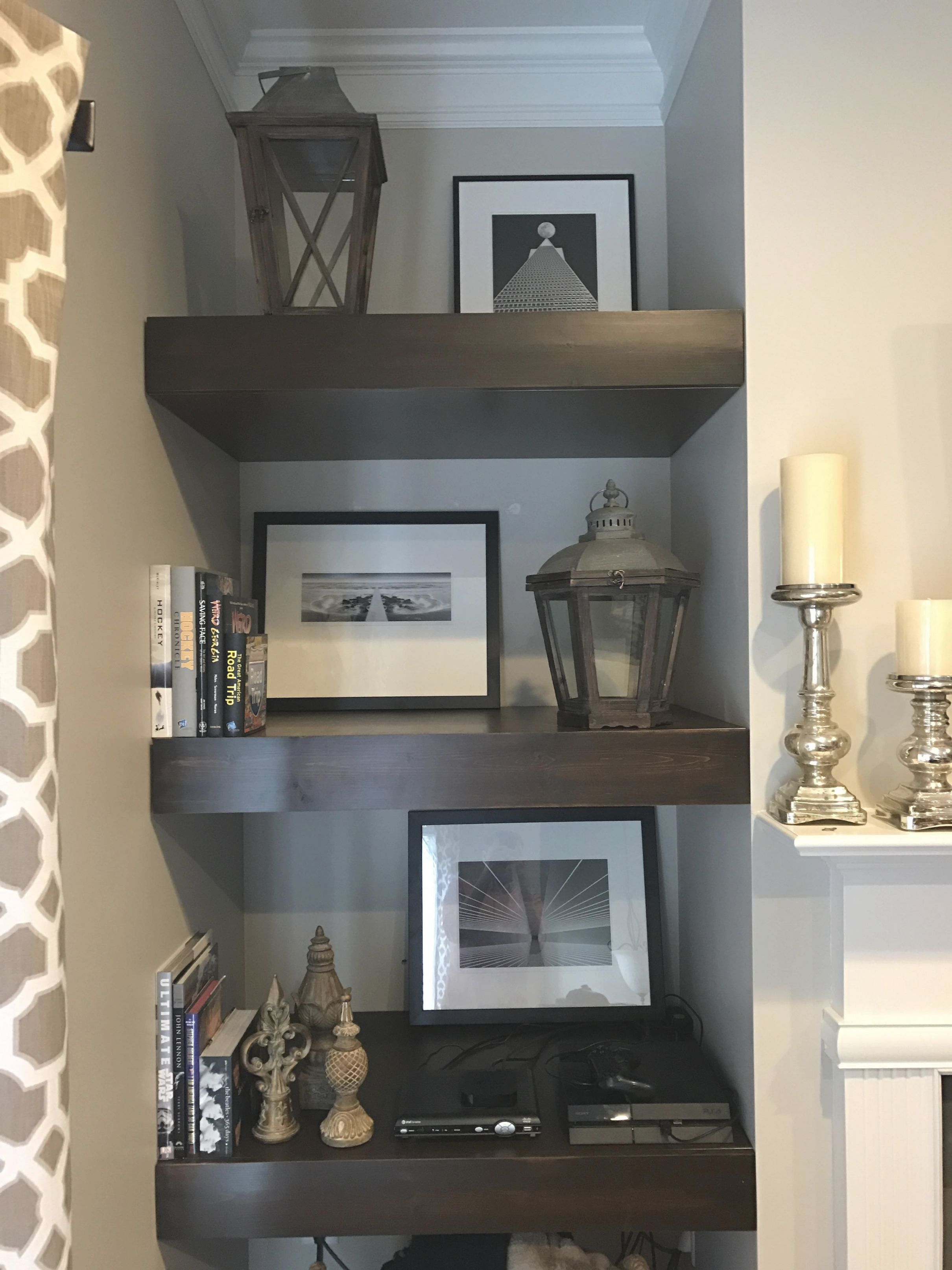 Pinsimply Decorate ® On Interior Design Ideas In 2019 with Unique Decorating Shelves In Living Room